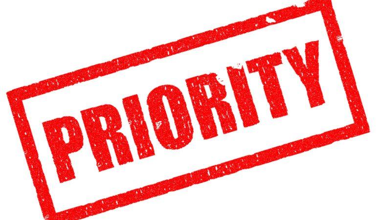 Prioritzar-se; com es reflexa a la llar?